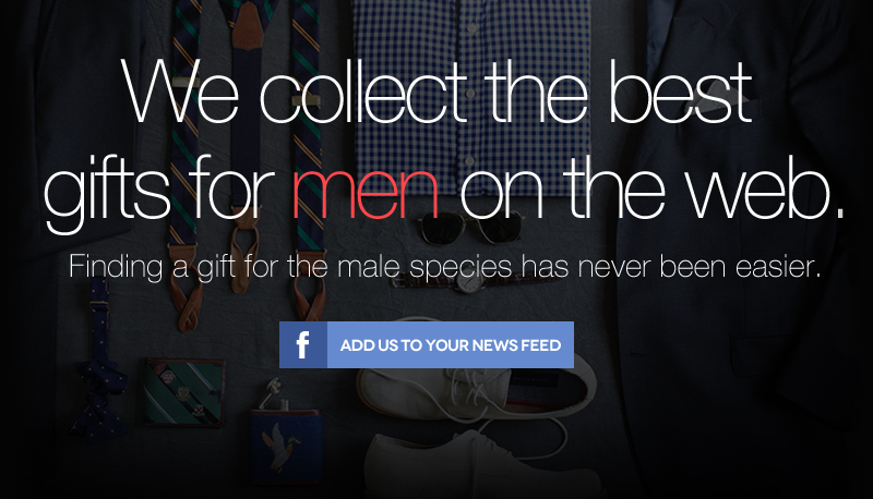Gifts for men new unique gift ideas for men added daily for Designer gifts for men