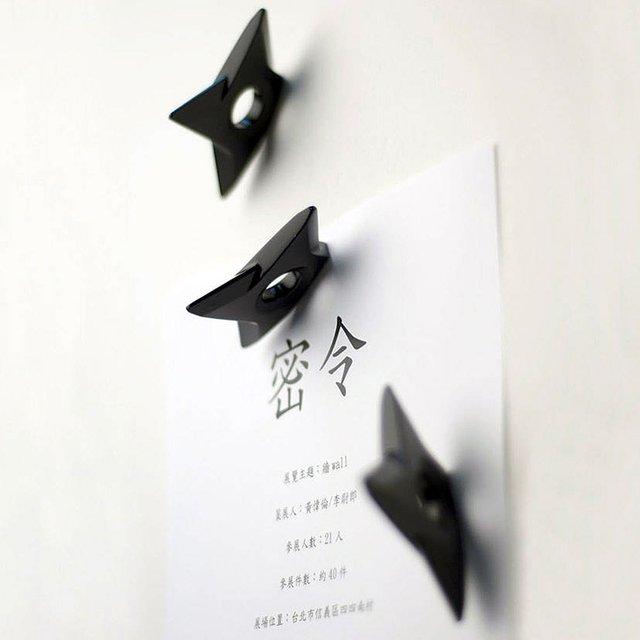 Ninja Stars Magnets