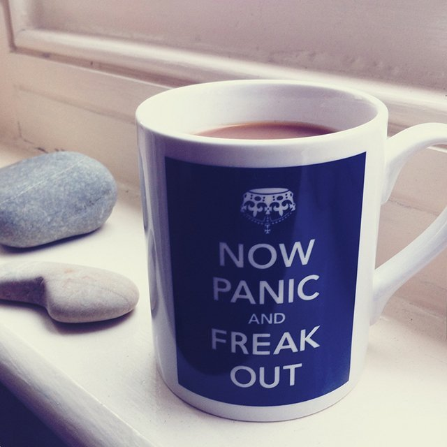 Panic & Freak Out Mug