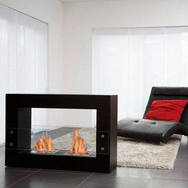 Qube Fireplace