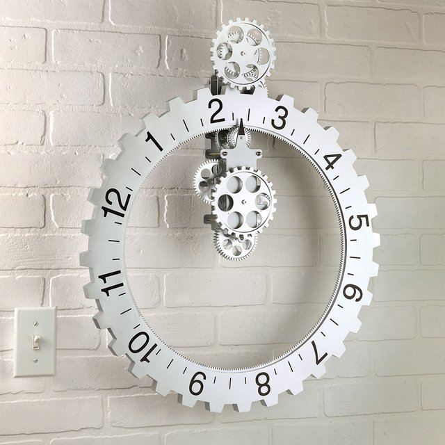 Big Wheel Clock