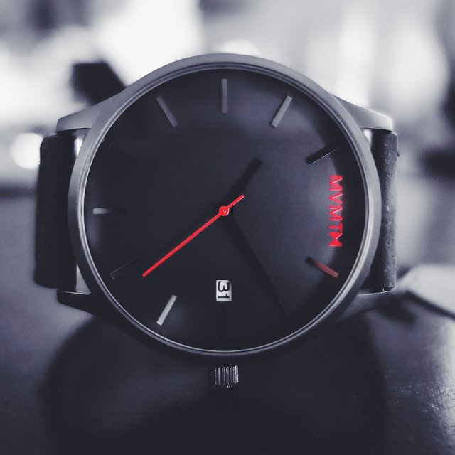 Black On Black Mvmt Watch