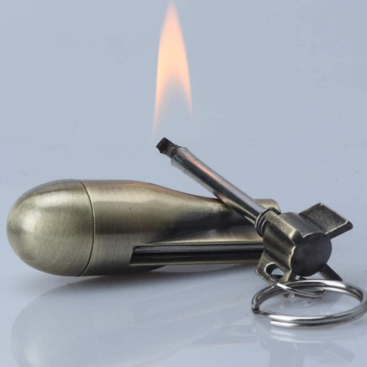 Bomb Keychain Lighter