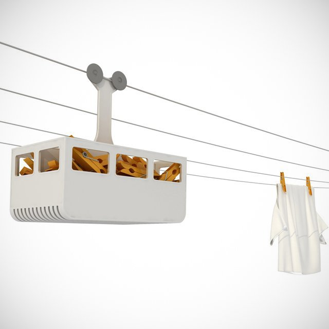 Cabina Clothespin Holder