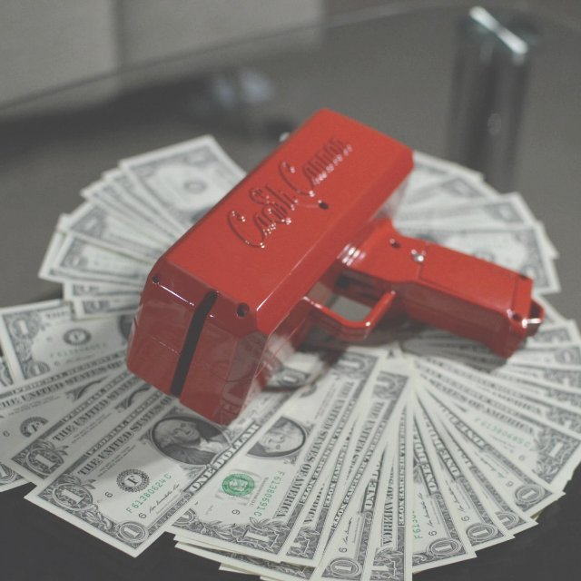 Cash Cannon Money Gun