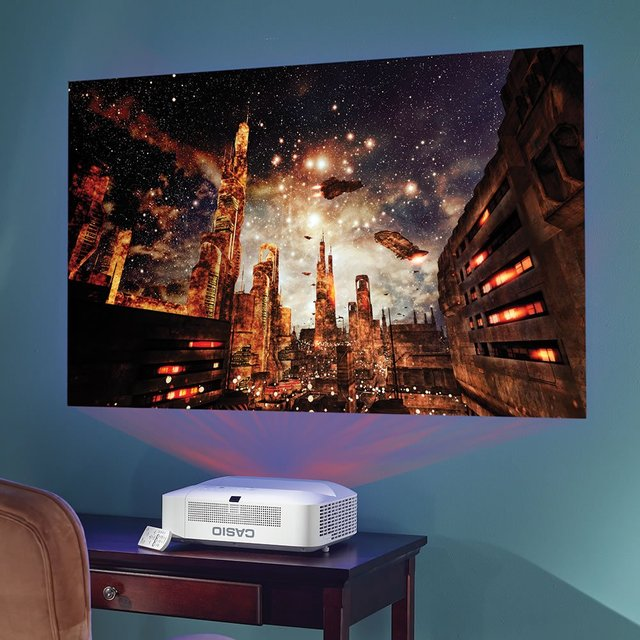 Short Range Wide Screen Projector