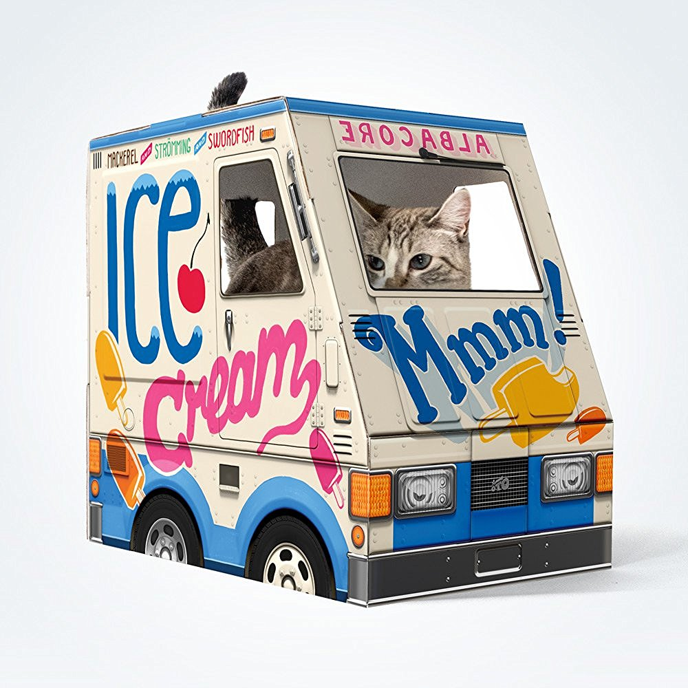Cat Ice Cream Truck