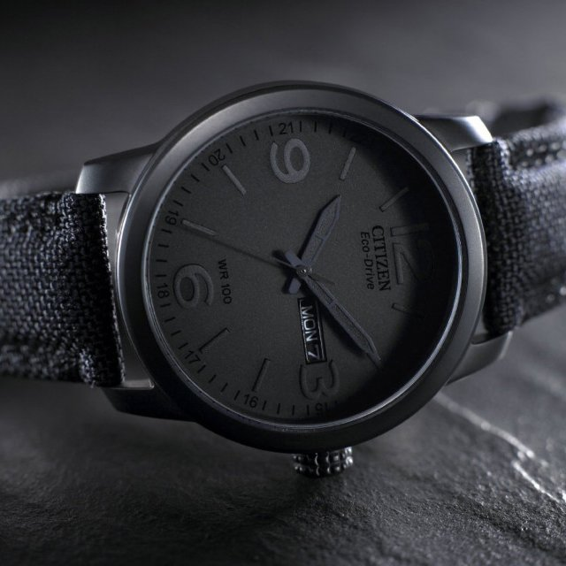 Citizen Stealth Eco-Drive Watch