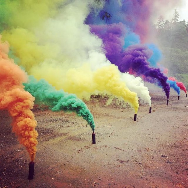 Color Smoke Grenade