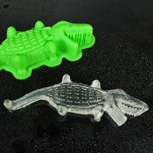Crocodile Ice Mold
