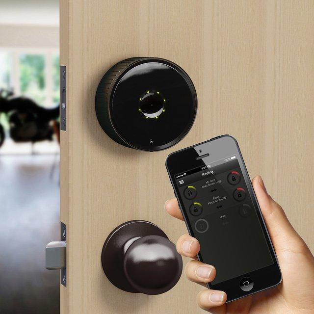 Smartphone Deadbolt Lock