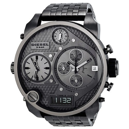 Diesel Gunmetal Watch