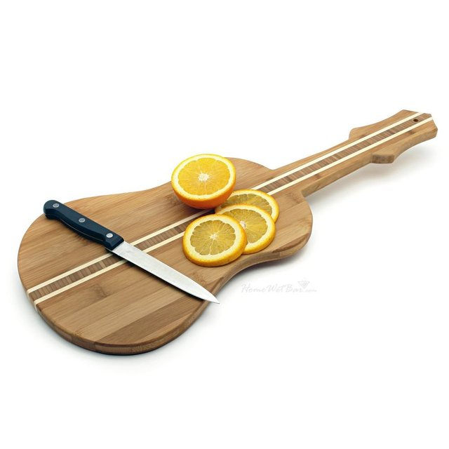 Guitar Shaped Cutting Board