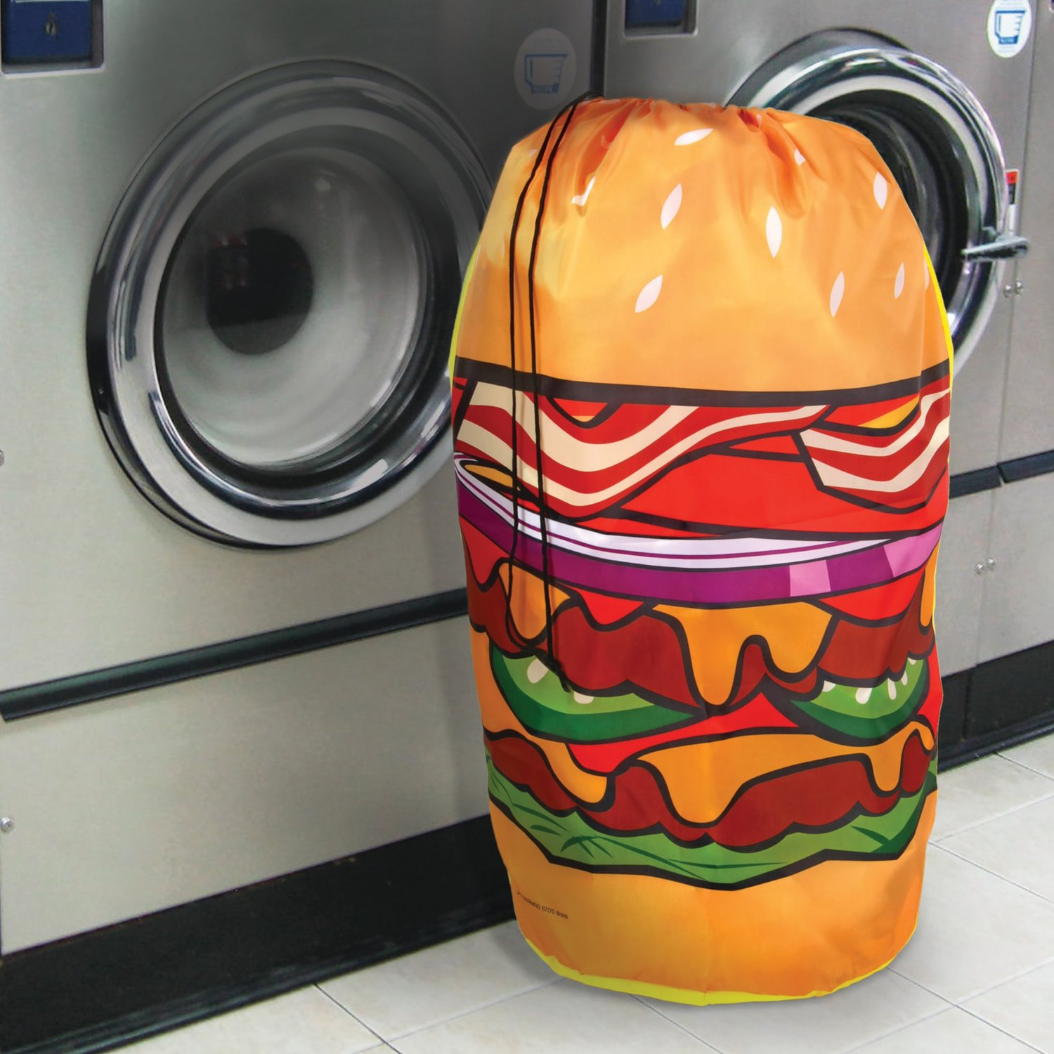 Hamburger Laundy Bag