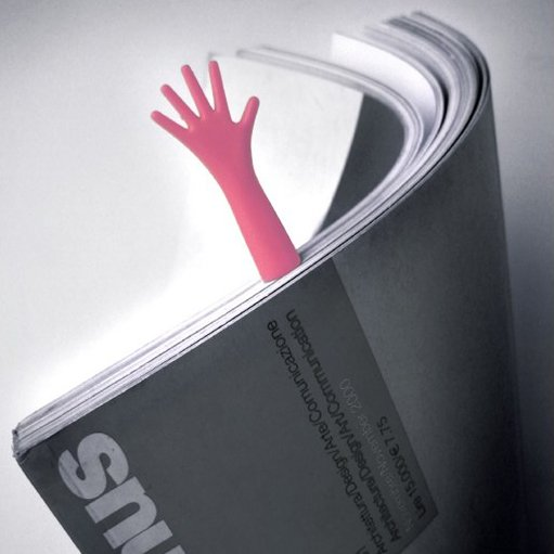 Helping Hand Bookmark