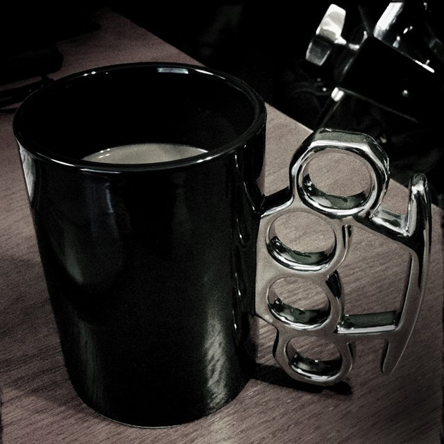 Knuckle Duster Coffee Mug