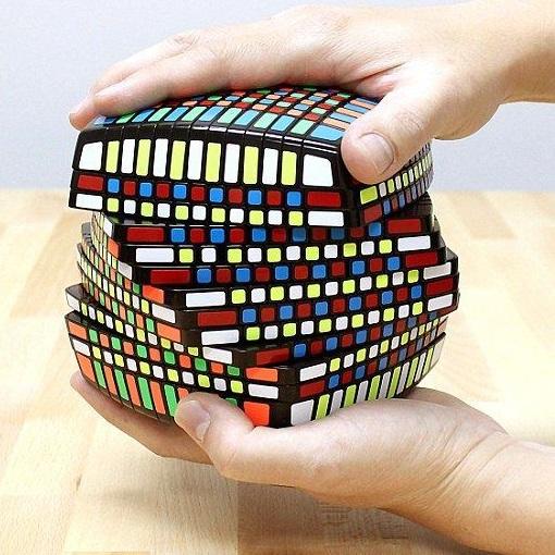 Largest Rubik's Cube