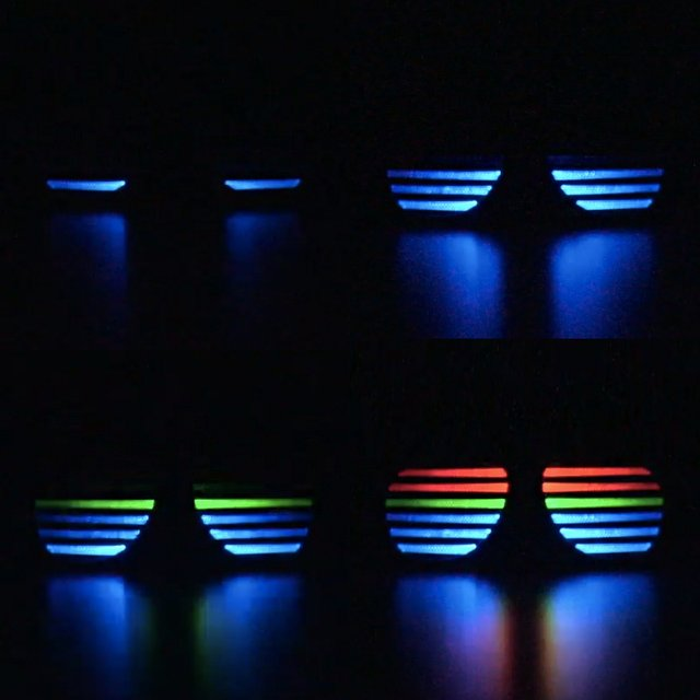 LED Sound Reactive Sunglasses