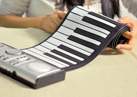Roll Up Piano Keyboard