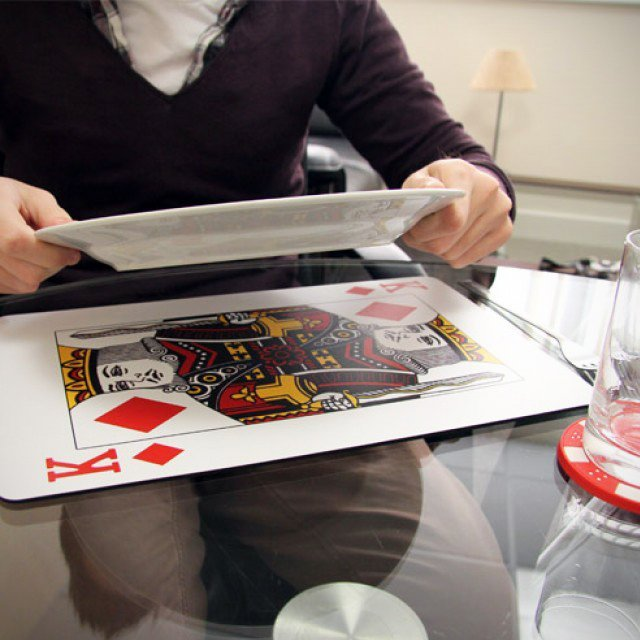 Royal Playing Card Placemats