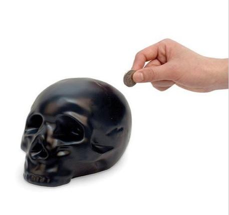 Skull Piggy Bank
