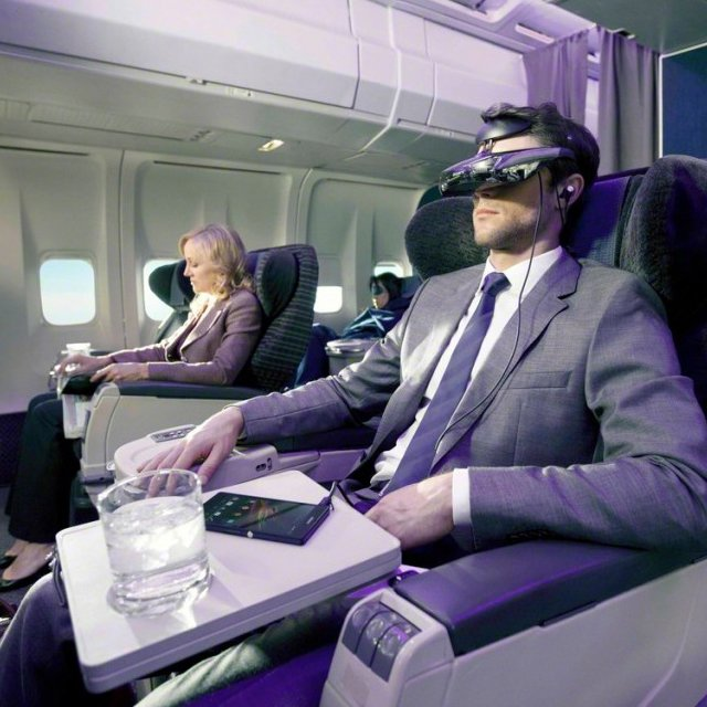 Sony Head Mounted 3D Viewer