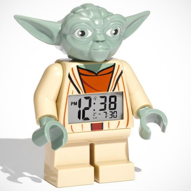Star Wars Yoda Alarm Clock