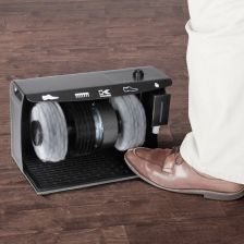 Hands Free Shoe Polisher