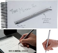 Inkless Metal Beta Pen