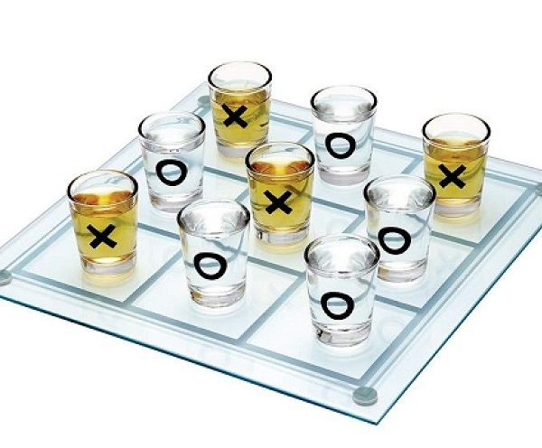 Tic Tac Toe Shots