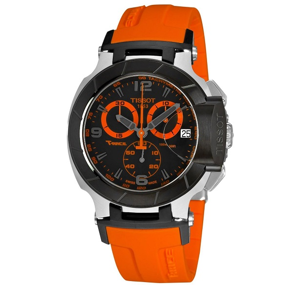 Tissot T-Race Orange Watch