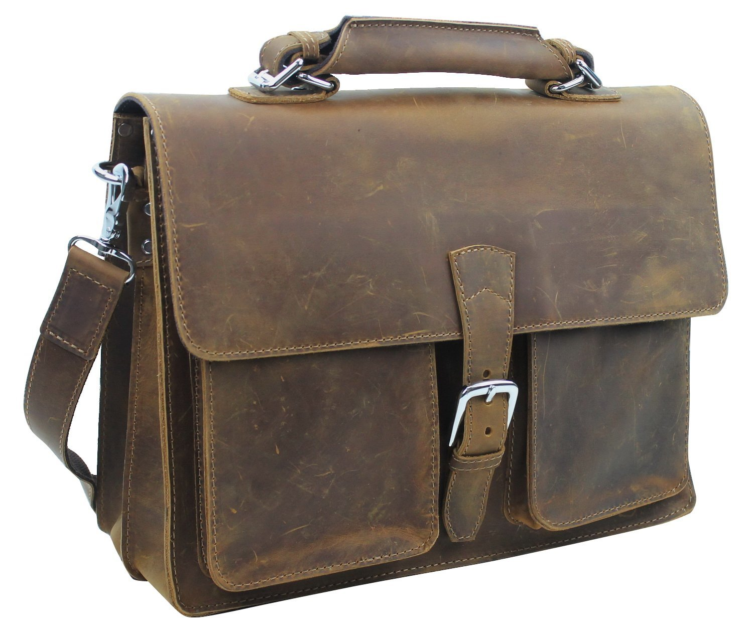 Vagabond Leather Laptop Bag